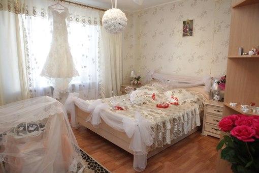 как украсить комнату невесты