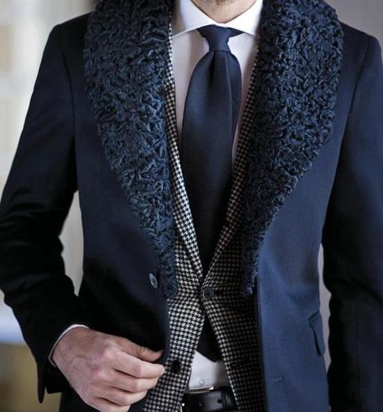 зимний костюм жениха