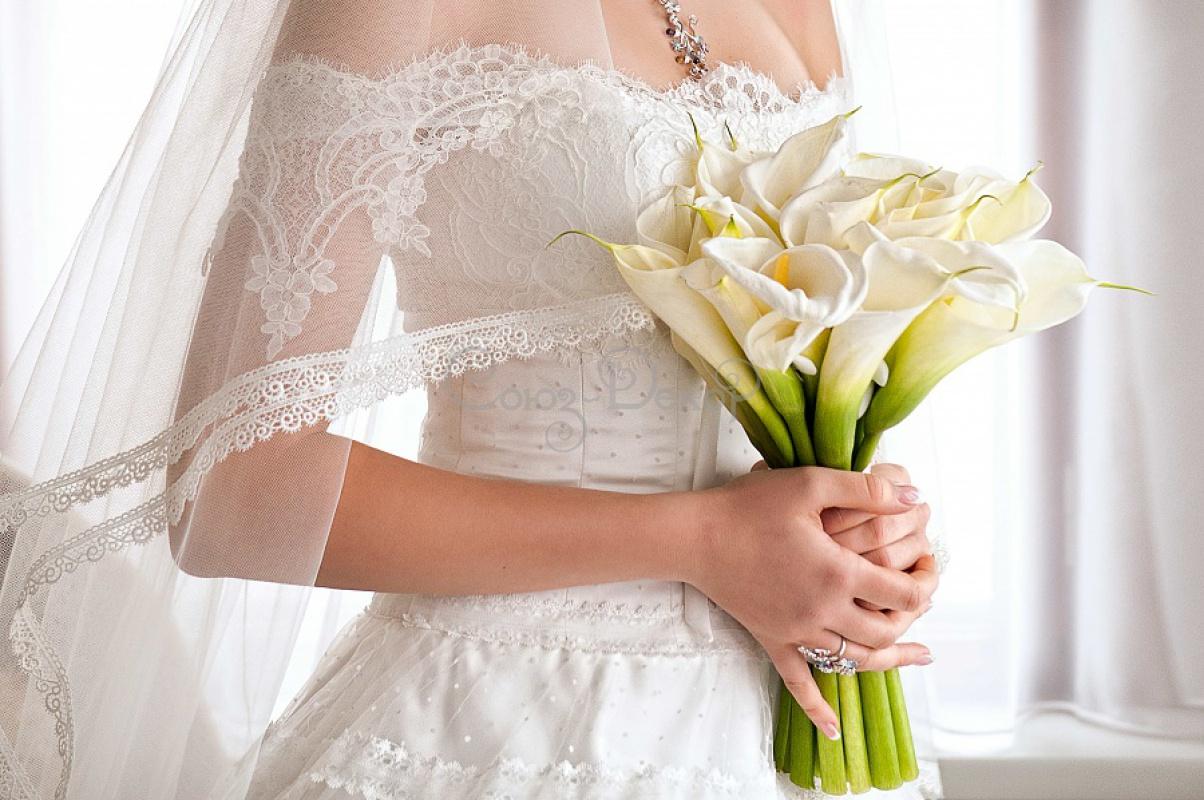 Букет на платье своими руками