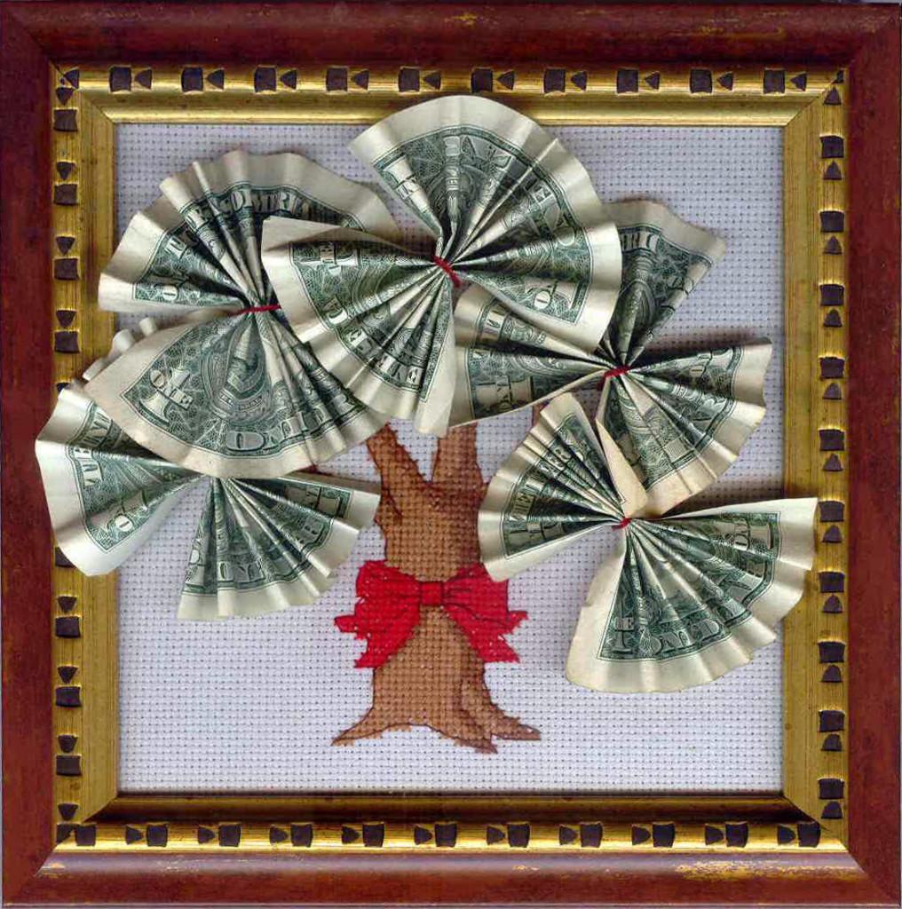 денежная картина