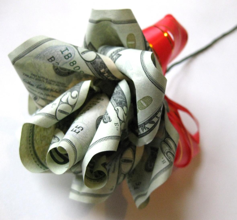 Оригинальные идеи подарков из денег 50