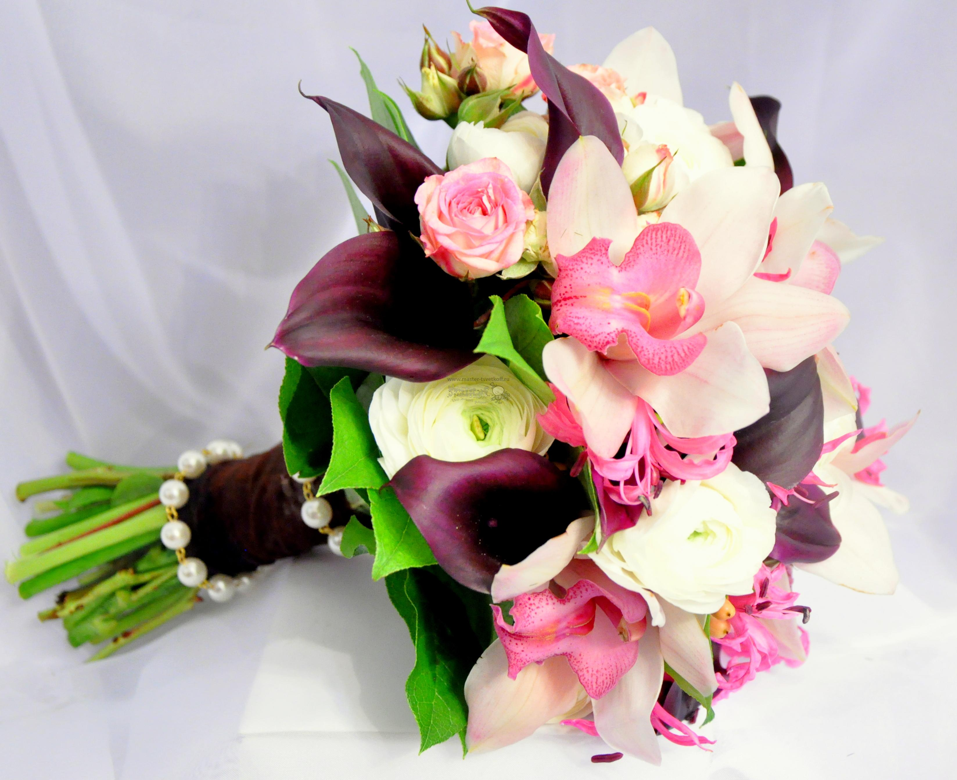 Букет невесты своими руками, как сделать букет невесты из роз