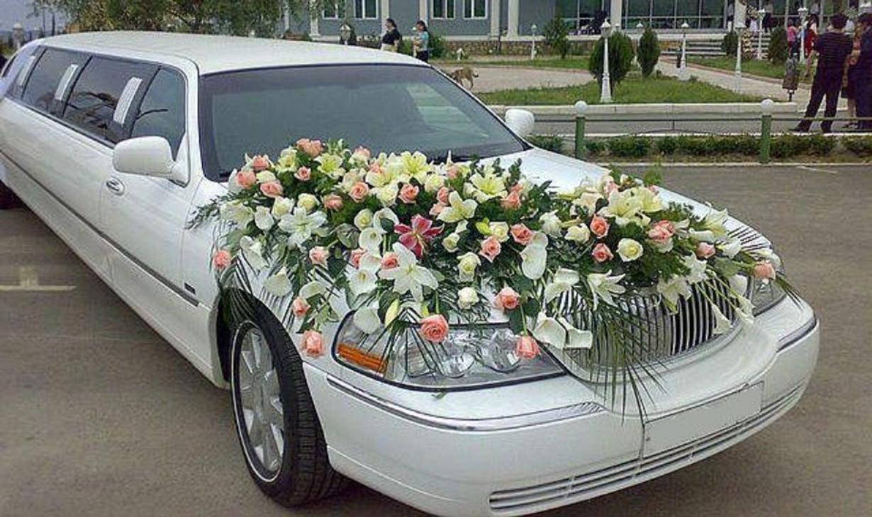Цветы своими руками на свадебную машину