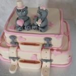 креативный свадебный торт 2