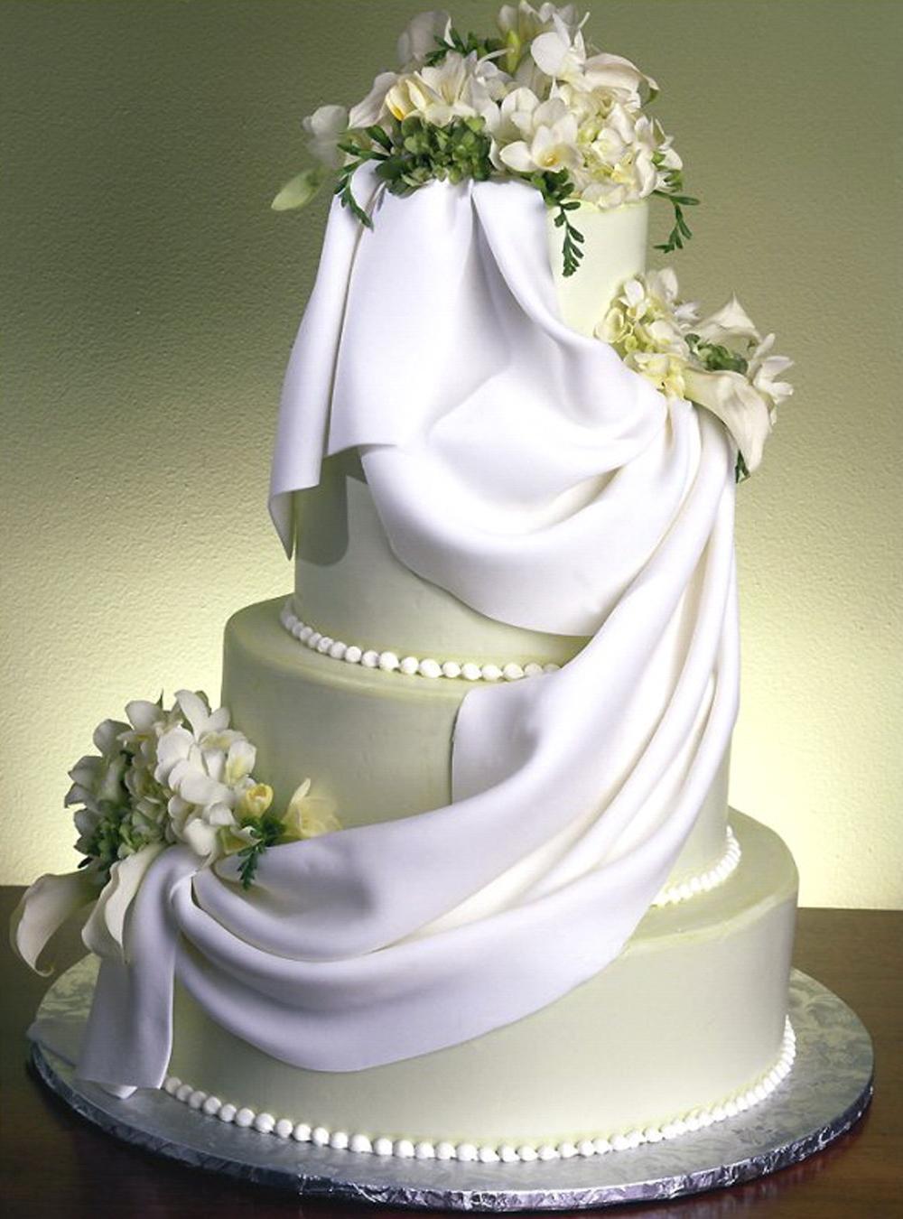 сваднбный торт