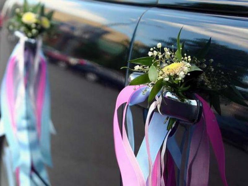Свадебный декор машины своими руками 10
