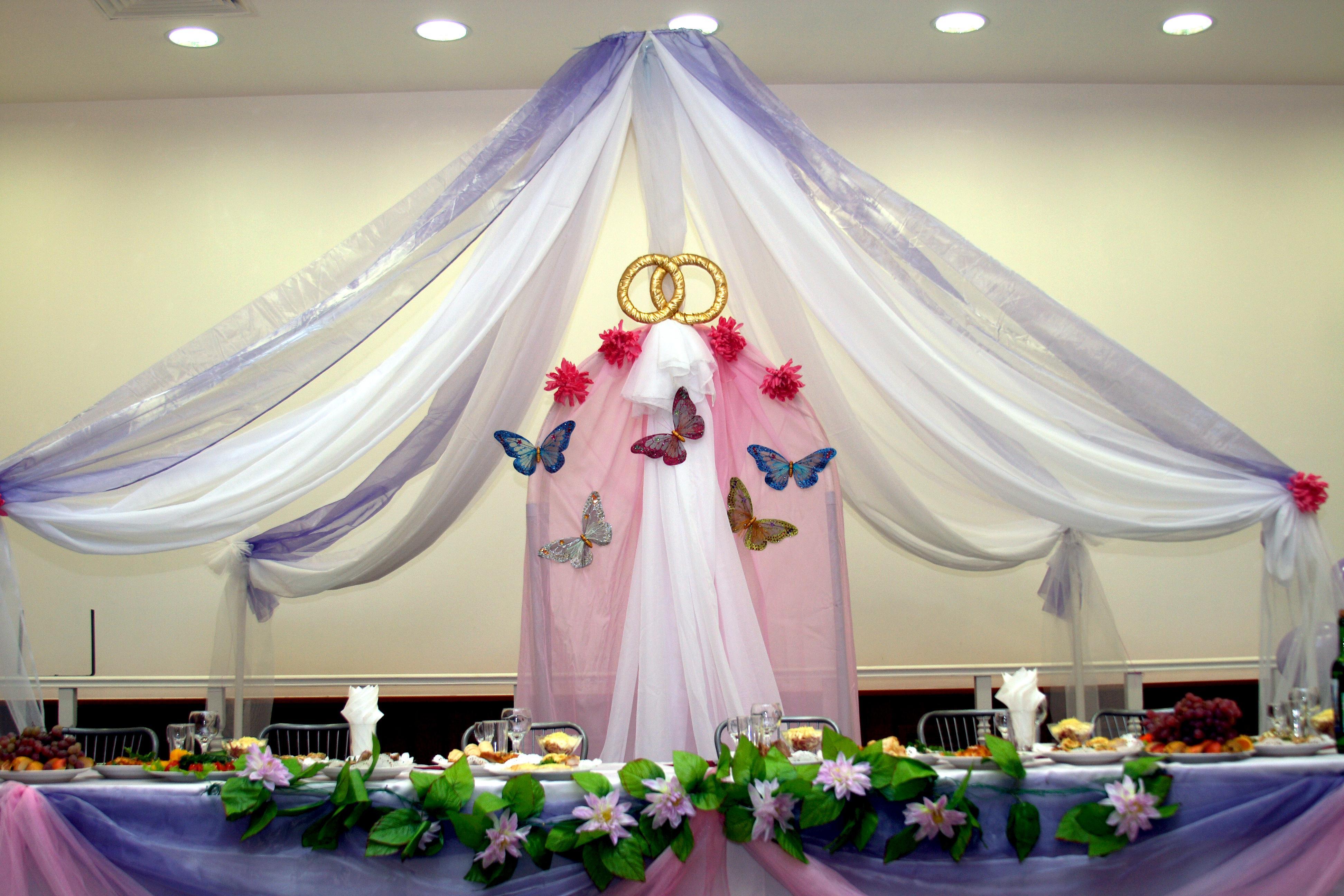 Украшения из шаров свадебного зала своими руками 55
