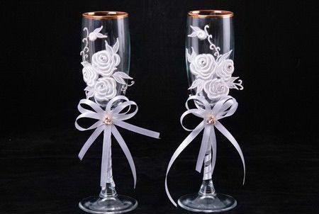 Цветы из ленты на свадьбу своими руками