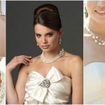 Как подобрать бижутерию к свадебному платью
