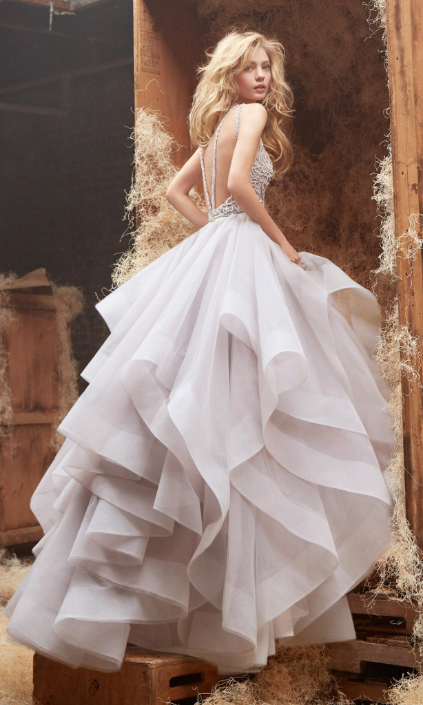 нестандартное свадебное платье