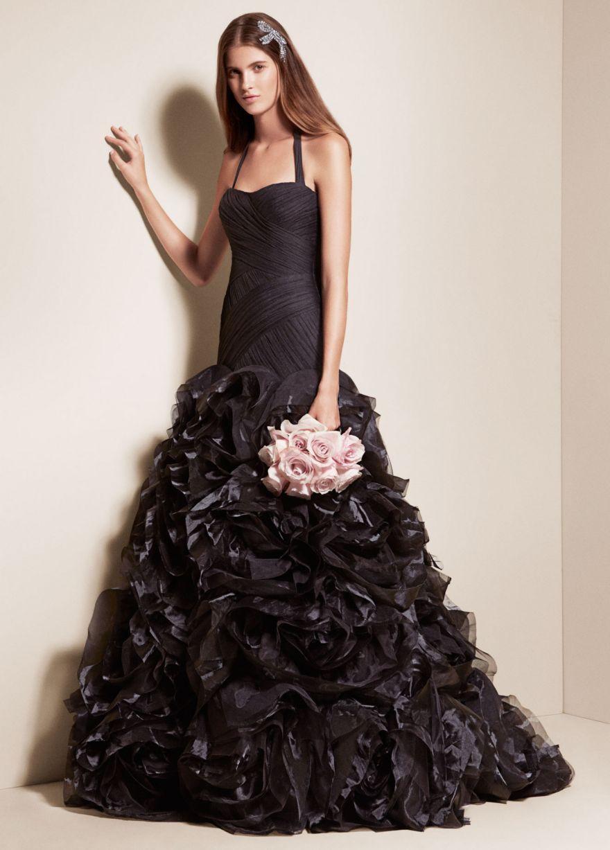 Чёрное свадебное платье приметы