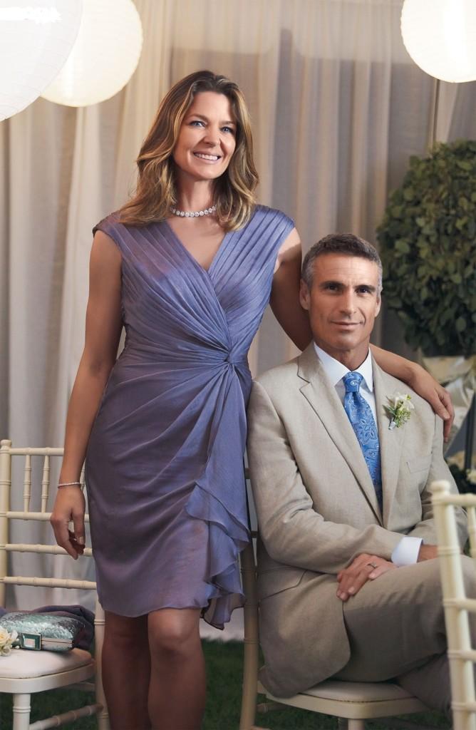 Цвет платья мамы жениха