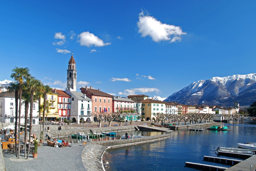 Ascona lakeside - Switzerland