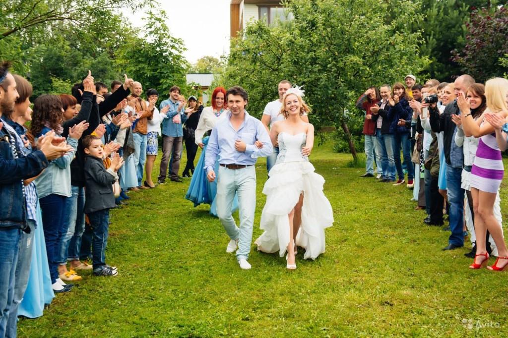 второй день свадьбы на природе