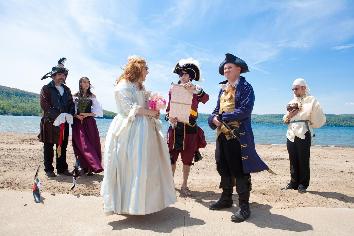 Свадьба в стиле «Пиратов Карибского Моря» - f-Journal Ru