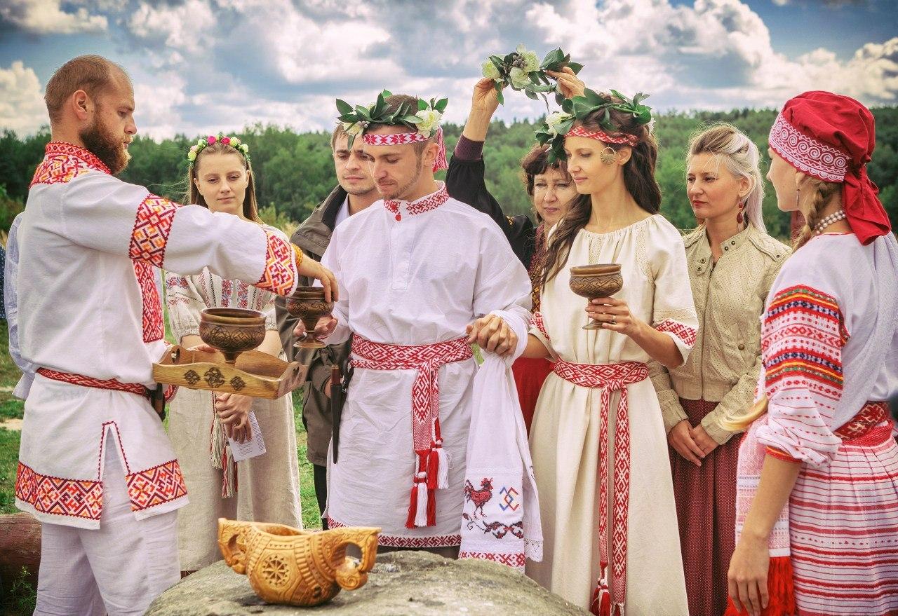 Традиционные свадебные обычаи