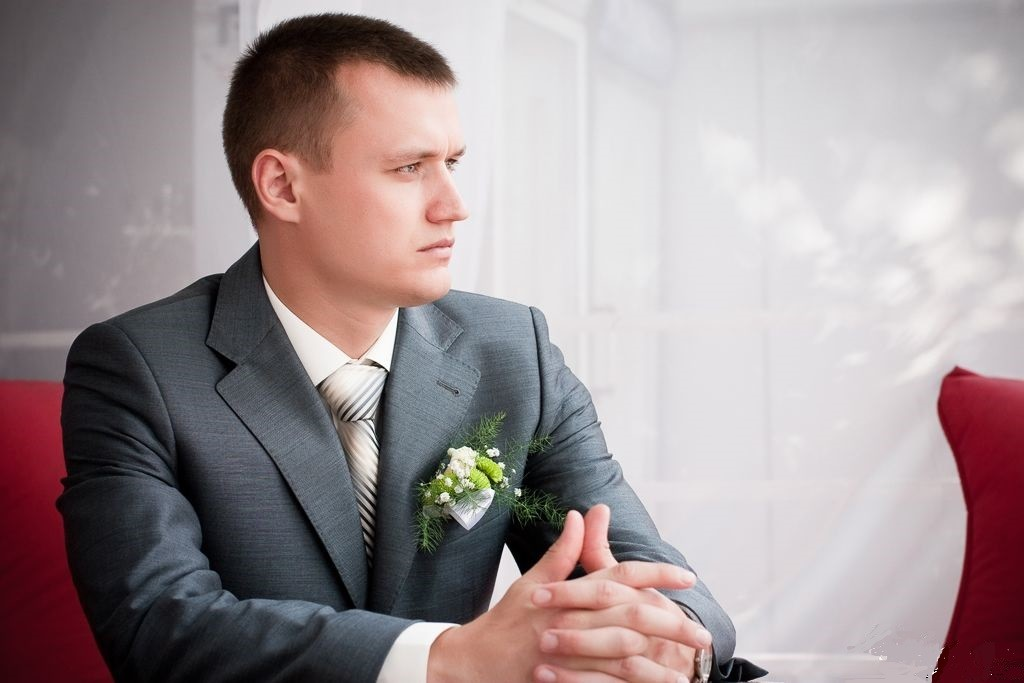 Прически для мужчин на свадьбу