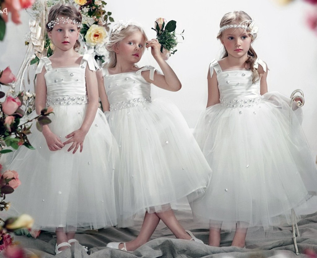 наряд для девочки на свадьбу