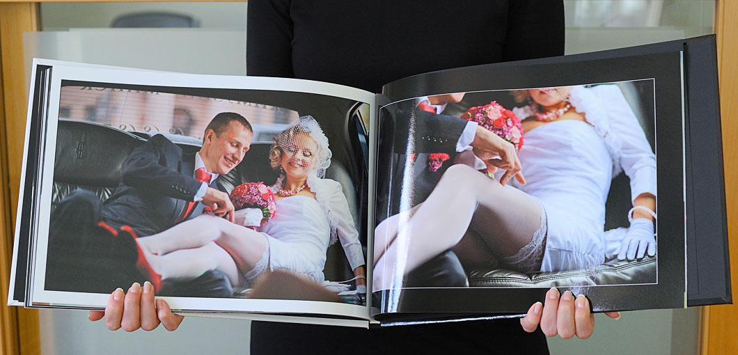 Свадебный альбом фотокнига