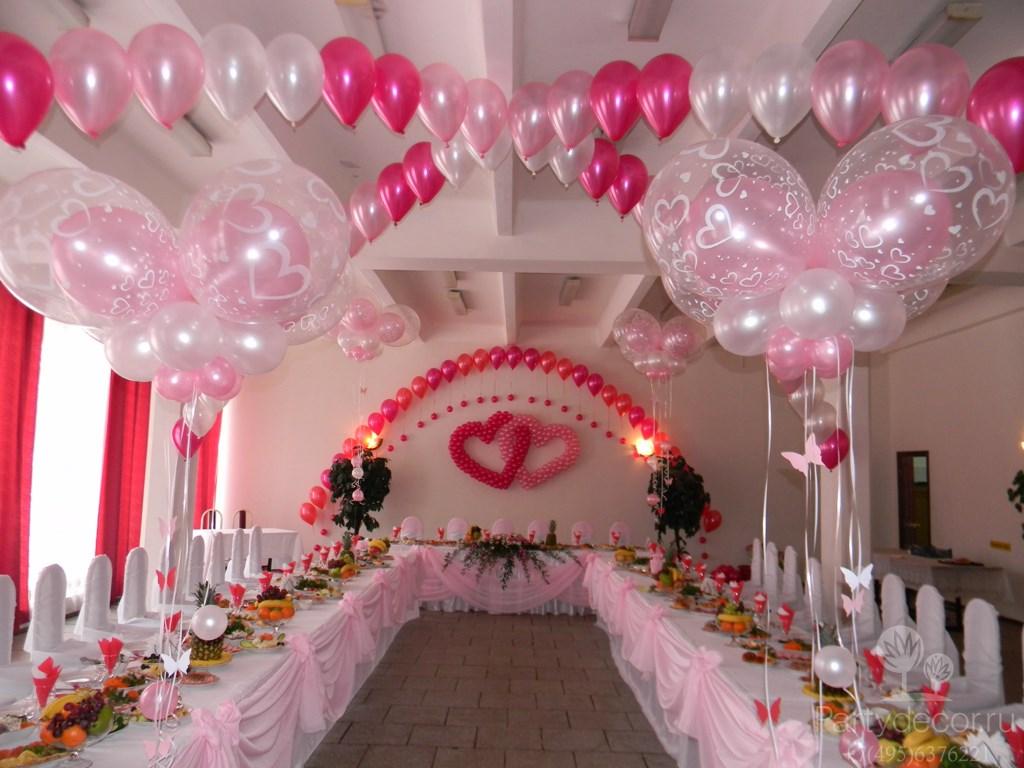 Шары на свадьбе: 40 идей с фото Снова Праздник!
